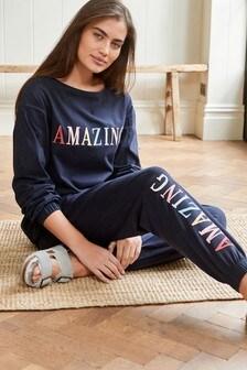 Long Sleeve Cotton Pyjamas
