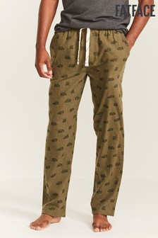 FatFace Green Land Rover Print Lounge Pants