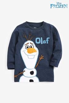 Tričko s dlhými rukávmi s motívom Olafa z Ľadového kráľovstva od Disney® (3 mes. – 8 rok.)