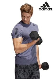 adidas Train Heat Ready 3-Stripe T-Shirt