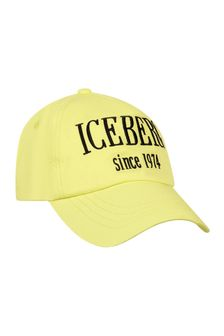 Ice Iceberg Boys Yellow Cap