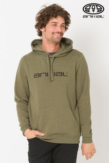 Animal Olive Marl Driver Hoody
