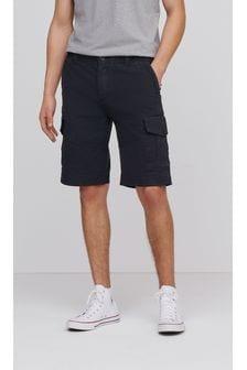Premium Longer Laundered Cargo Shorts