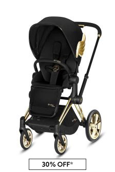 Cybex Black/Gold Wings Priam