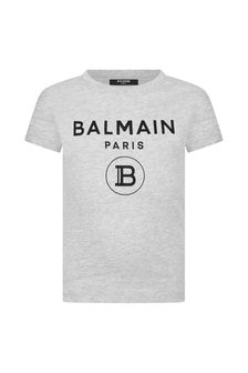 Balmain Cotton Logo T-Shirt