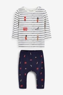 Animal T-Shirt And Leggings Set (0mths-3yrs)
