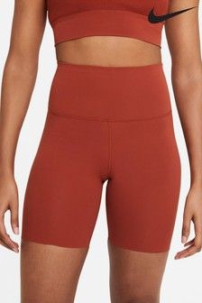 "Nike Yoga Luxe High Waisted 7"" Shorts"