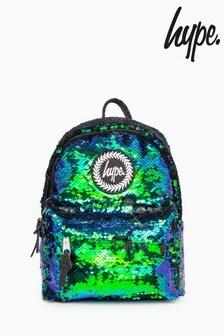 Hype. Green Mermaid Sequin Mini Backpack