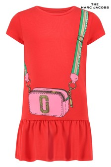 The Marc Jacobs Red Skater Dress