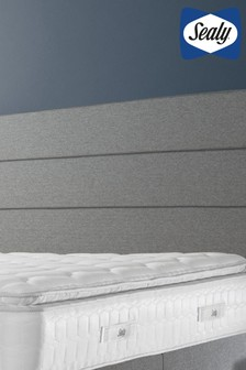 Monet Full Height Pebble Grey Headboard by Sealy