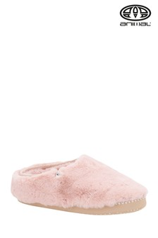 Animal Rose Dust Pink Bollo Shortie Slippers