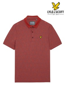 Lyle & Scott Mens Golf Jacquard Polo Shirt