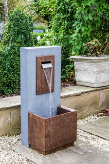 Outdoor Contemporary Water Feature by Ivyline