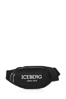 Ice Iceberg Boys Black Belt Bag