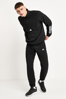 adidas Black Team Sports Tech Tracksuit