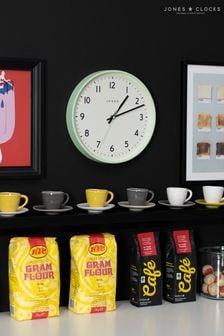 Jones Clocks Jam Neo Mint Wall Clock