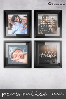 Personalised Baby Photo Frame by Loveabode