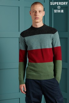 Superdry Harlo Colourblock Crew Jumper