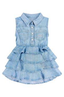 Guess Baby Girls Blue Dress