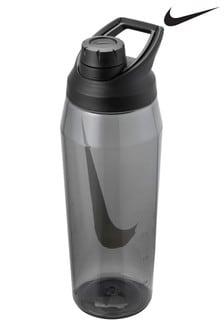 Nike Mens 32oz Black Hypercharge Chug Water Bottle
