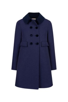 Girls Blue Coat