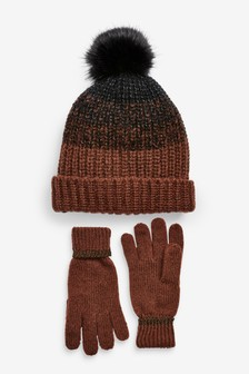 Glove And Hat Gift Set