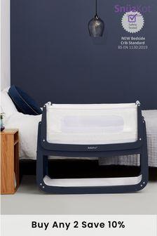 SnuzPod4 Bedside Crib Navy