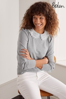 Boden Harewood Collared Jumper