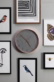 Jones Clocks Penny Copper/Grey Dial Wall Clock