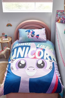 Glow In The Dark My Little Pony Duvet Cover and Pillowcase Set