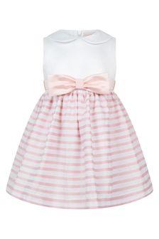 Bimbalo Girls Pink Cotton Dress