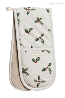 Sophie Allport Holly & Berry Double Oven Glove