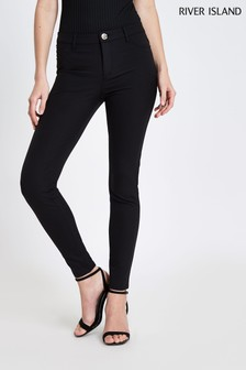 River Island Molly Techno Skinny Trousers