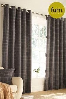 Furn Grey Ellis Curtains