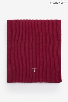 GANT Mens Wool Knit Scarf