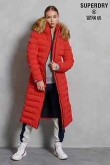 Superdry New Arctic Long Padded Coat