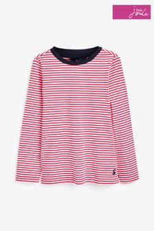 Joules Pink Pascal Lightweight Top