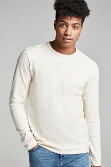 Long Sleeve Pocket T-Shirt