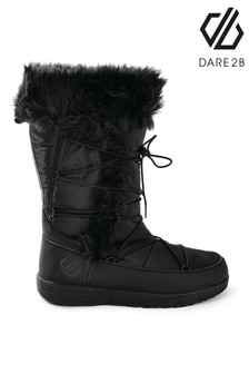 Dare 2b Black Cazis Cosy Faux Fur Boots
