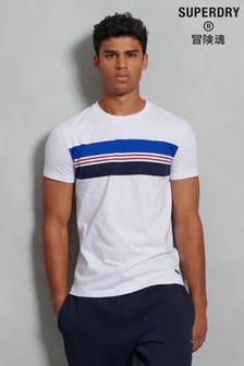 Superdry Organic Cotton R&P Chestband T-Shirt