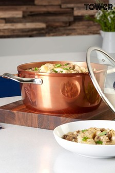 Tower Copper Forged Casserole Dish