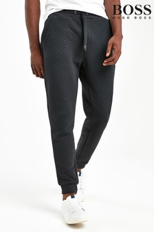 BOSS Black Quilted Joggers