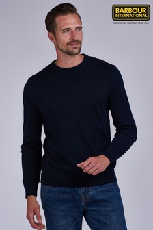 Barbour® International Baffle Patch Sweater