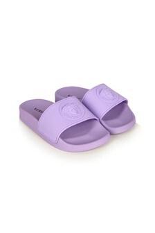 Versace Girls Pink Sliders