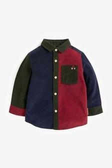 Spliced Cord Long Sleeve Shirt (3mths-7yrs)