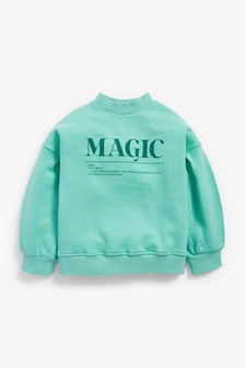 Slogan Sweatshirt (3-16yrs)