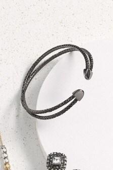 Bracelet flexible orné de strass