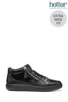 Hotter Rapid Extra Wide Fit Lace-Up High Top Shoes