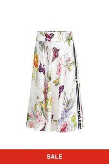 Monnalisa Girls White Skirt