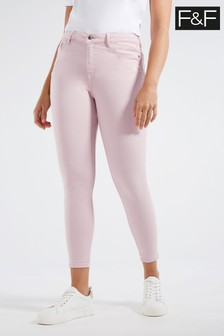 F&F Lilac Supersoft Jeans